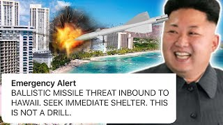 Hawaii Was Attacked By North Korea? – Huge Mistake