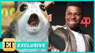 EXCLUSIVE: 'Star Wars' Actor John Boyega on Porgs: 'They're Rodents, But They're Great'