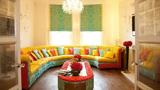 30 Refreshing, Bright, Colorful Interior Design Ideas- Plan n Design