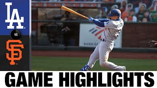 Dodgers complete doubleheader shutout sweep | Dodgers-Giants Game Highlights 8/27/20