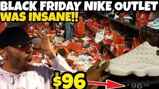 THE CRAZIEST NIKE OUTLET YOU WILL EVER SEE!!! BLACK FRIDAY PICK UPS!!!