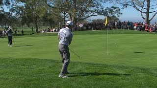 Tiger Woods opens with a bogey at Farmers