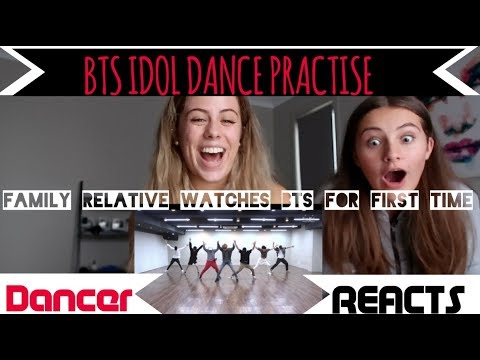 FAMILY RELATIVE WATCHES ... BTS (방탄소년단) 'IDOL' Dance Practice FOR THE FIRST TIME!