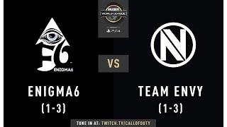 Enigma6 vs Team Envy | CWL Pro League 2019 | Division B | Week 4 | Day 2