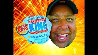 BURGER KING® AMERICAN BREWHOUSE KING™ REVIEW!