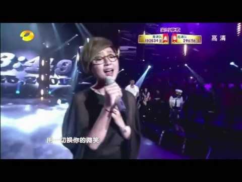 周笔畅《重来好不好》&杨宗纬《对嘴》20120525天声一队.flv