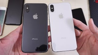 iPhone X - Double Unboxing! All Colors! (4K)
