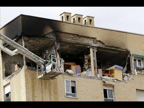 Una explosión en una vivienda de Usera deja un herido y ocho viviendas afectadas