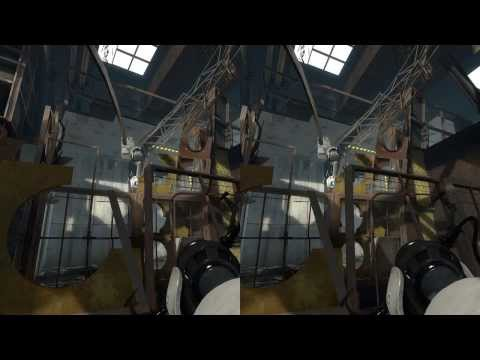Crosseyegaming 3D - Full Height HD - Portal 2