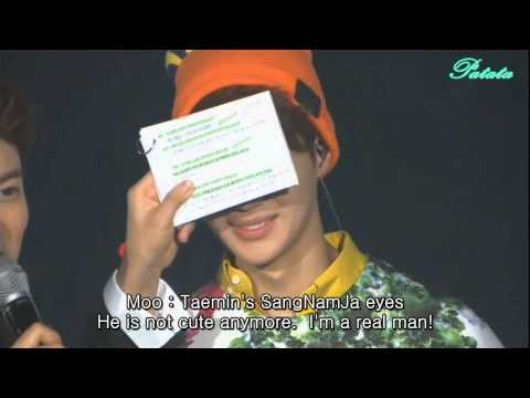 [ENG] Showcase 'Dream Girl' with SHINee (Talk - part3)
