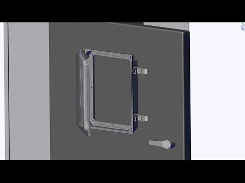HMI Cover Kit Installation for NEMA 4X Enclosures