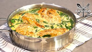 Creamy Tuscan Garlic Chicken   One Pan Family Meal