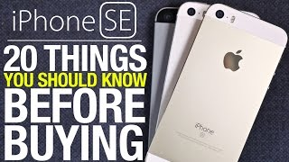 iPhone SE - 20 Things You Should Know Before Buying!