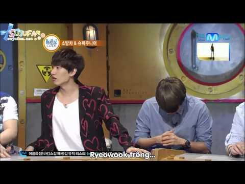 [SJF Vietsub] 120723 Beatles Codes with Super Junior (1/3)