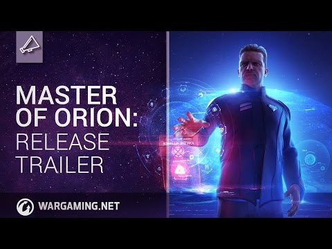 Conquer the Stars with Master of Orion, launching today!