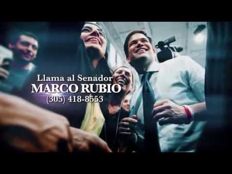 Support for Sen. Marco Rubio (R-FL)