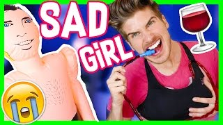 TRYING SAD GIRL PRODUCTS!
