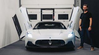 NEW Maserati MC20 Supercar - First Look At Maserati's New Carbon Car!