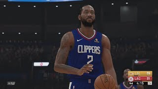 NBA 2k19 - Lakers vs Clippers | Kawhi Leonard x Paul George Signs with LA Clippers