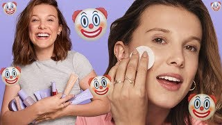 Millie Bobby Brown FAILED HILARIOUSLY With This Skincare Tutorial