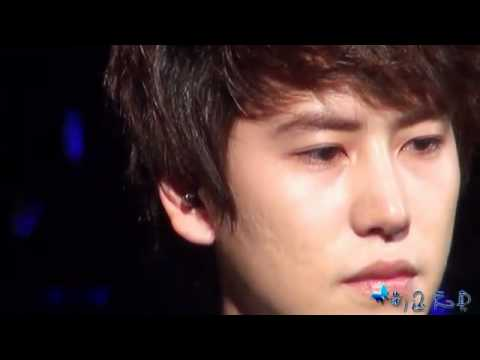 [HD Fancam]  Kyuhyun crying - In My Dream @ SS3 in Nanjing.flv