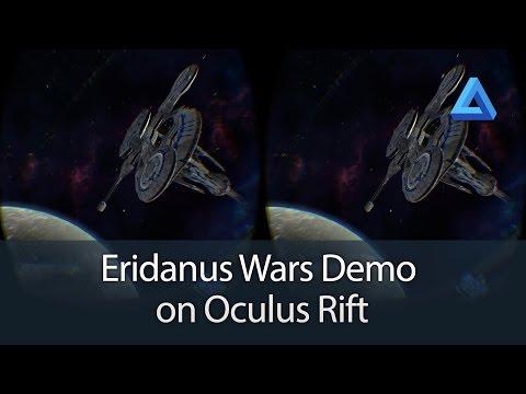 Eridanus Wars Kickstarter Demo Oculus Rift Gameplay