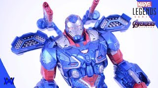 Marvel Legends Avengers Endgame Iron Patriot Toy Review