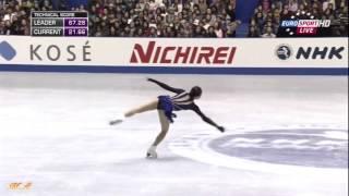 浅田真央(mao asada)  NHK杯 2013 FS ~ 「ラフマニノフ・ピアノ協奏曲第2番」 高音質Ver.  保存版