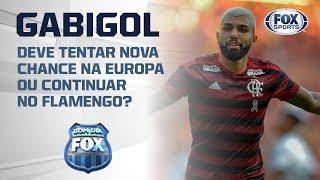 ESTÁ COMO NO SANTOS? Bancada analisa situação de Gabigol com o Flamengo