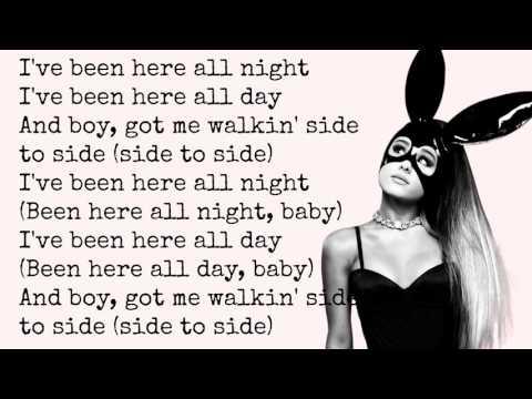 Side To Side - Ariana Grande (ft. Nicki Minaj) LYRICS HD