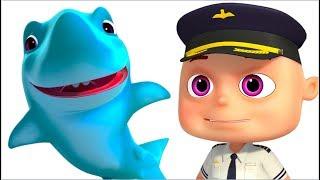 Zool Babies Series - Baby Shark Rescue Episode   Cartoons For Children   Videogyan Kids Shows
