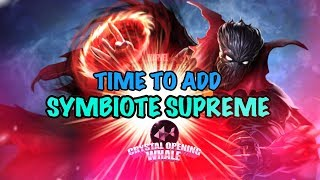 Symbiote Supreme Crystal Opening VERY LONG-Marvel Contest of Champions