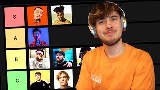 Youtube Rapper Tier List 2020 (KSI, RiceGum, FlightReacts)