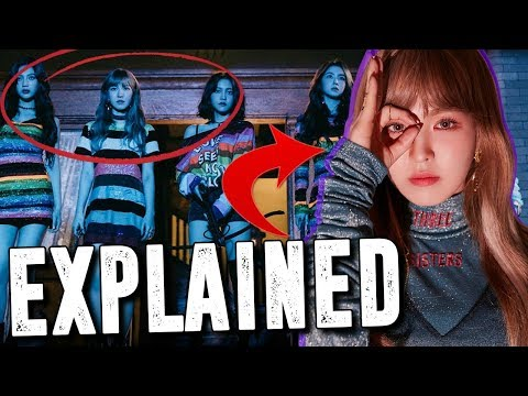 (EXPLAINED) Red Velvet Peek-A-Boo