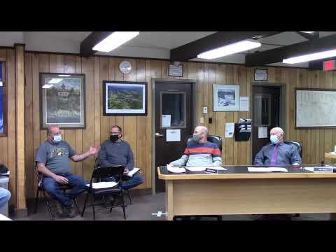 Peru Town Board Meeting  5-10-21