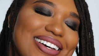 Easy Beginner Friendly SMOKEY EYE TUTORIAL  Makeup for Black Women