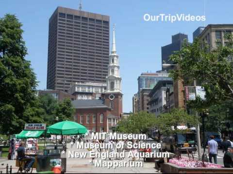Pictures of Boston (City, Boat, Freedom Trail, Waterfront and Skywalk), MA, USA