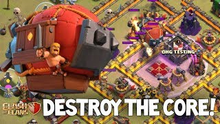 Battle Blimp CHARGE! Sneaky Technique | Clash of Clans
