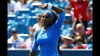 Serena Williams vs Eugenie Bouchard Cincinnati 2013 Highlights