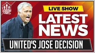 Man Utd Make MOURINHO Decision! Man Utd News