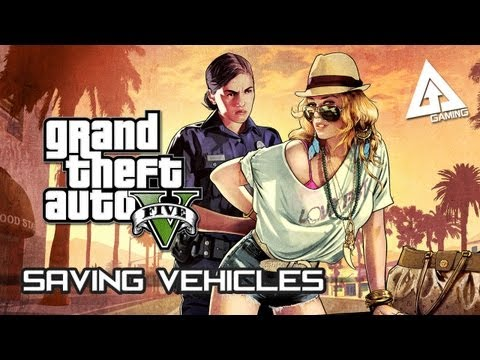 GTA 5 How to Save Your Cars (Grand Theft Auto V)