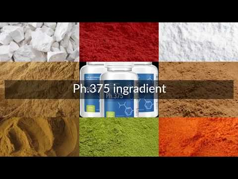 Ph.375 Ingredients