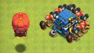 """STONE SLAMMER vs EVERYTHING!! """"Clash Of Clans"""" TH12 CHALLENGE!"""