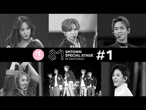The behind the scenes of SMTOWN SPECIAL STAGE in SANTIAGO Ep.1