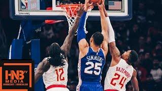 Philadelphia Sixers vs Atlanta Hawks Full Game Highlights   10.29.2018, NBA Season