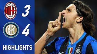 Milan 3 : 4 Inter | Legendary Match | Extended Highlights