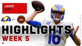 Jared Goff Throws for 309 Passing Yds & 2 TDs | NFL 2020 Highlights