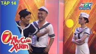 HTV 7 NỤ CƯỜI XUÂN | Hari Won và Trường Giang quảng cáo mắm tôm | 7NCX #14 FULL | 11/3/2018