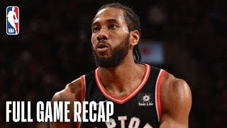 NETS vs RAPTORS | Kawhi Comes Up Clutch For Toronto | February 11, 2019