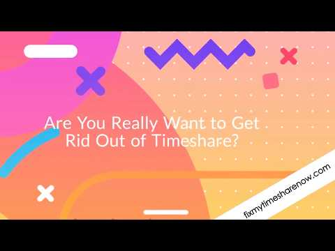 How to Exit TimeShare Easily?